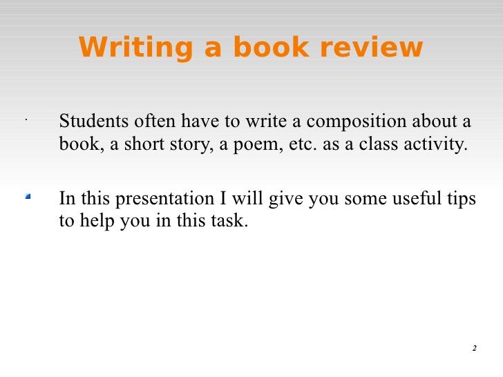 write book review essays