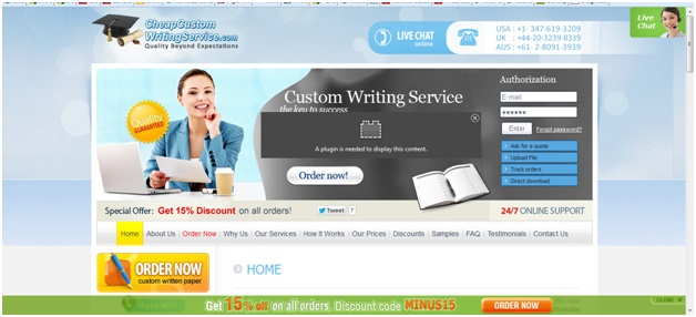 Paper writing service online custom