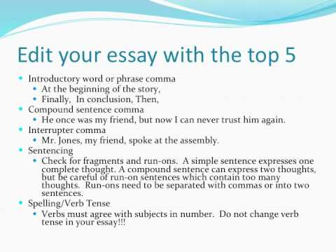 sample of admission essay
