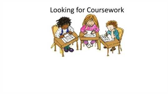Custom courseworks