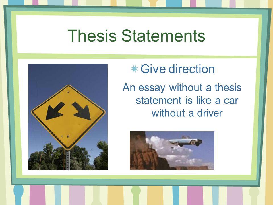 Thesis statement helper