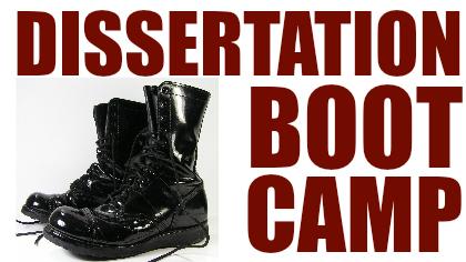 Dissertation bootcamp