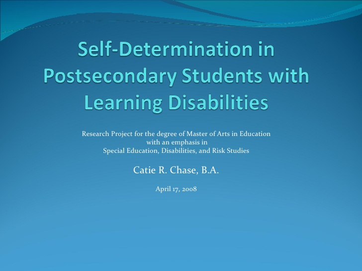 Defending a dissertation proposal