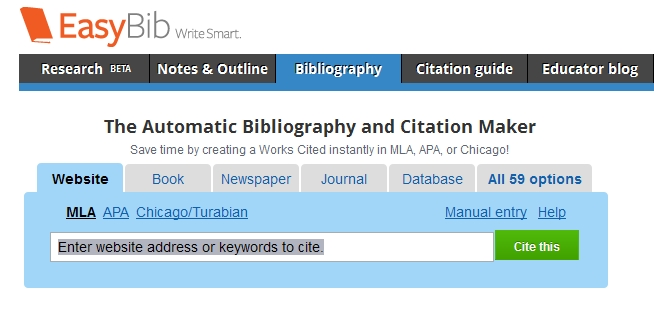 automatic annotated bibliography maker