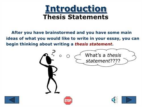 Definition Of Essay Writing Help Creating A Thesis Statement Vietnam Essays also Essay On Everyday Use Help Creating A Thesis Statement  College Homework Help And Online  How Do You Write A Cause And Effect Essay