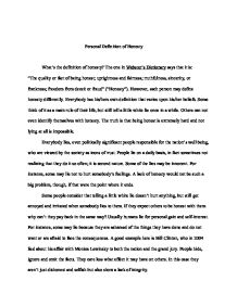 honesty essay college homework help and online tutoring  honesty essay
