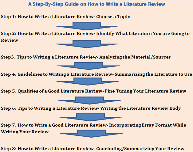 Dissertation writing assistance literature review