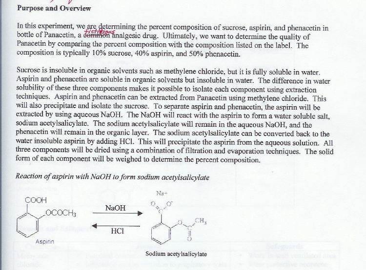 organic chemistry lab report college homework help and online  organic chemistry lab report