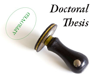 Doctoral thesis phd
