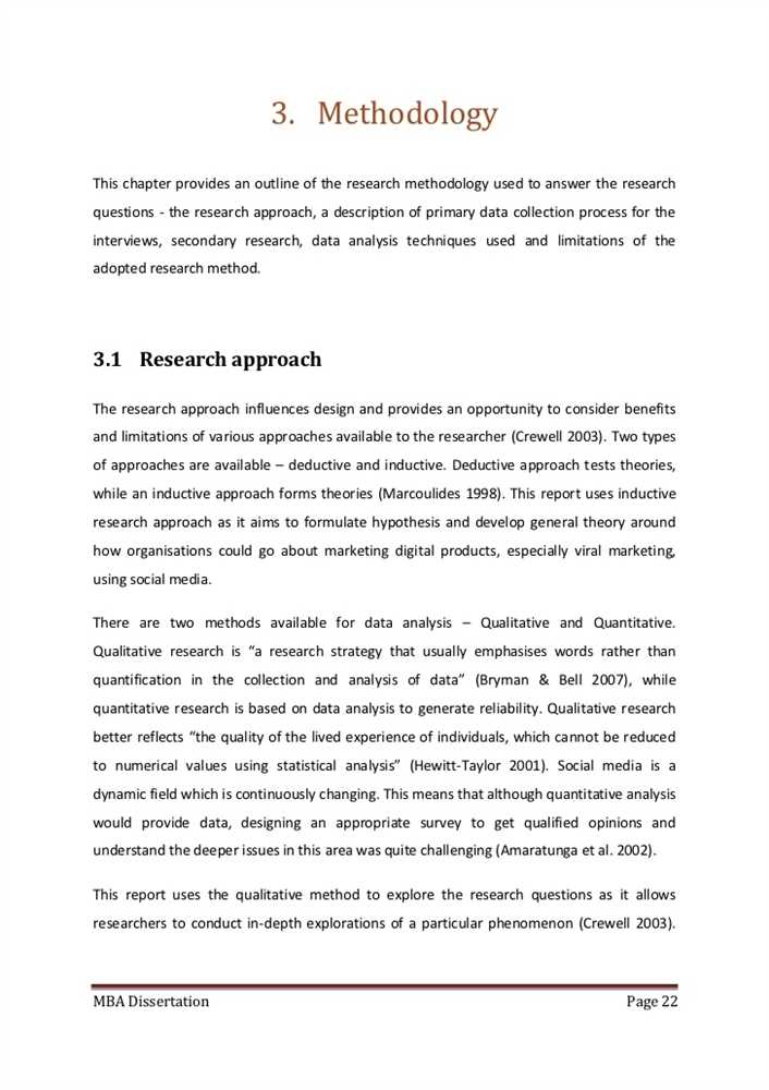 thesis on research methodology A sample research proposal with comments a research project or thesis will take at least two semesters to complete research methodology.