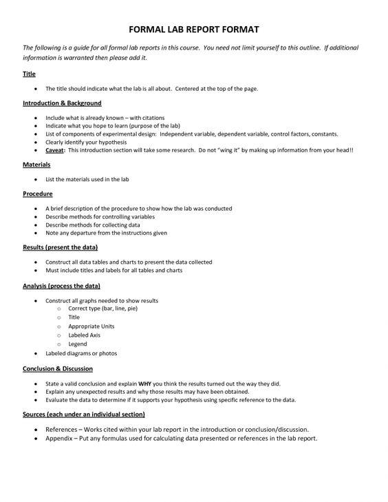 college homework format