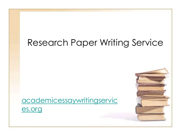Customized research papers