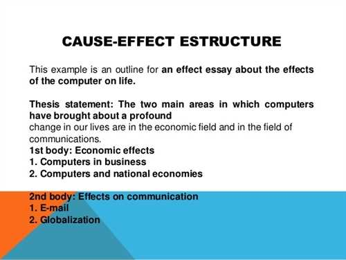 writing a cause and effect essay  college homework help and online  writing a cause and effect essay