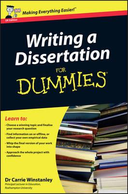 Best dissertation writing dummies