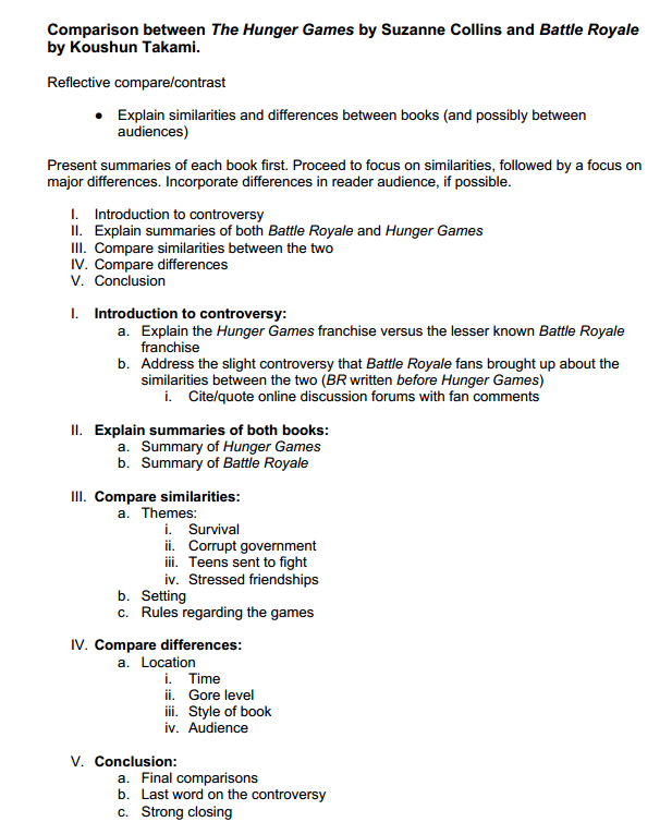 Compare Contrast Essay Examples High School  Business Law Essay Questions also Thesis In A Essay Writing An Essay Outline  College Homework Help And Online  Frankenstein Essay Thesis