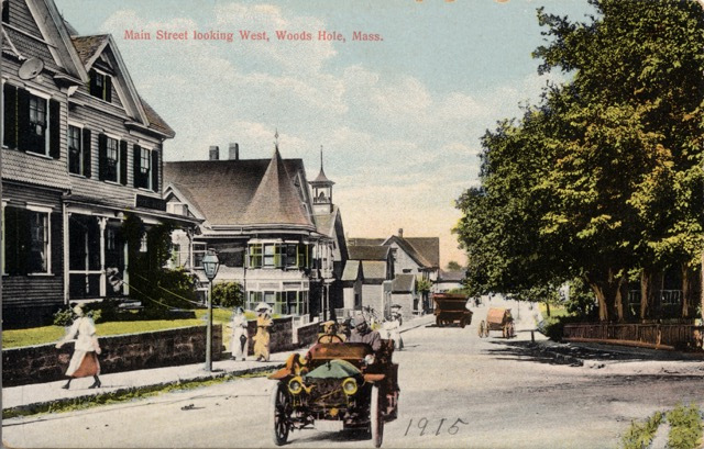 Woods Hole Community Collection © 2002 Post Cards Box 1 Old Woods Hole Main Street Area