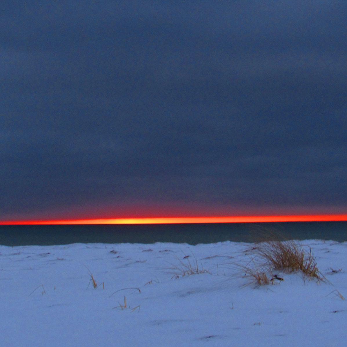 BlackBeach Sunset Feb10