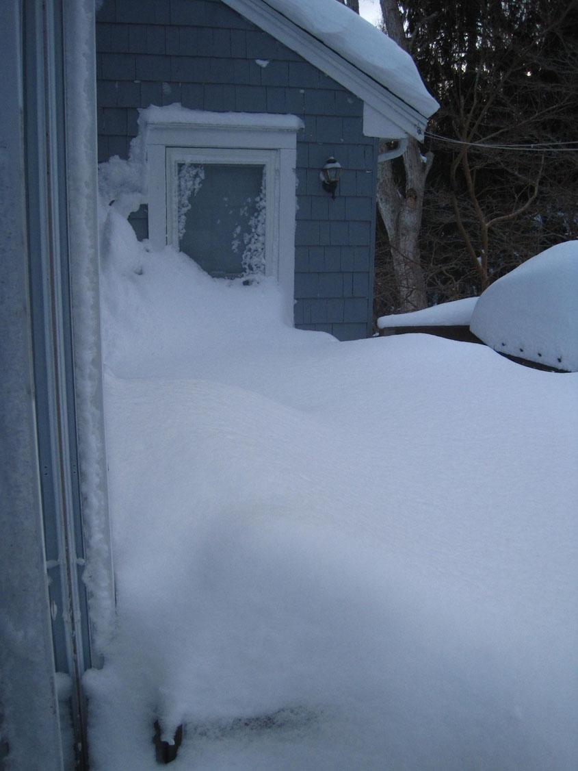 Jan28 Blizzard 3.5 feet