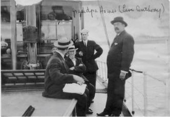 Levi Anthony Howes on board the Phalarope